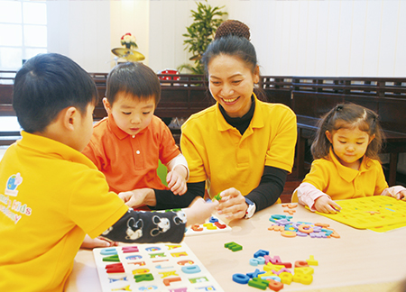 えいごの幼稚舎 ママーズ インターナショナル キンダースクール