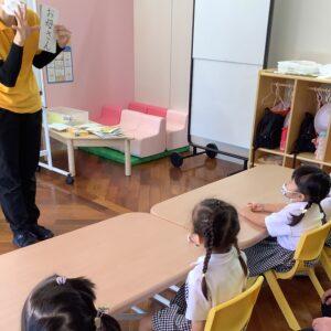 学ぶ言葉は生徒の身近な言葉から。初めての漢字も楽しく覚えることができました。